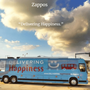 Zappos Eliciting Happiness
